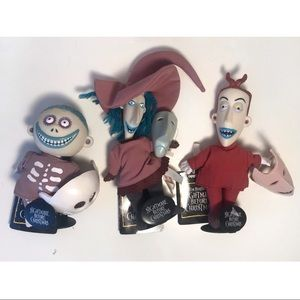 Nightmare Before Christmas Lock Shock Barrel Dolls